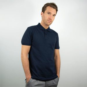 Honest Basics_Polo_navy