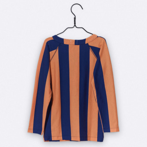 LOVE kidswear Luca Longsleeve orange & navy
