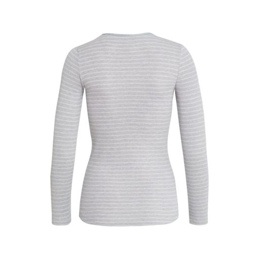 conta Thermo Langarmshirt sterling-geringelt