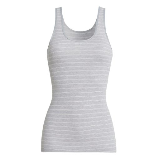 conta Thermo Tanktop sterling-geringelt