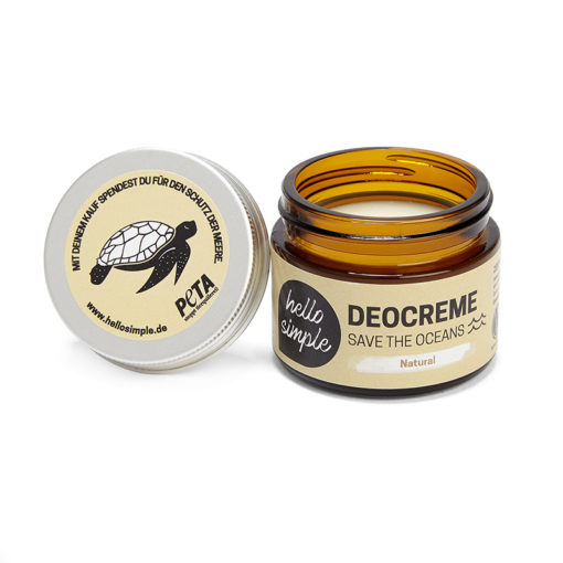 hello simple Deocreme Save The Oceans Natural