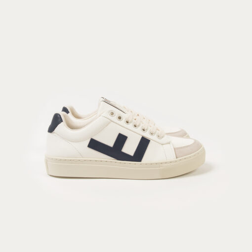 Flamingo's Life Sneaker Classic 70's kicks White Navy Grey