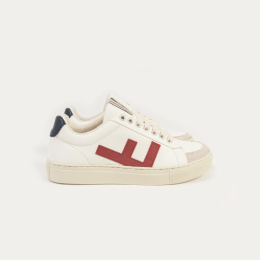Flamingo's Life Sneaker Classic 70's kicks White Navy Red Grey