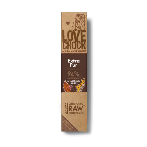 Lovechock Riegel Extra Pur 94%