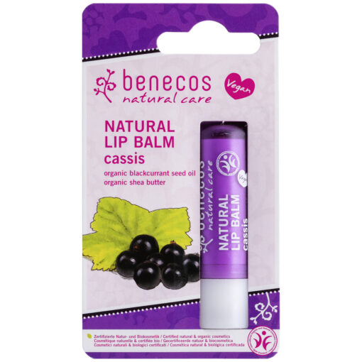 benecos Natural Lip Balm Cassis