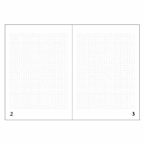 "Real Passionates Notizbuch A5 ""Grey Dots"""