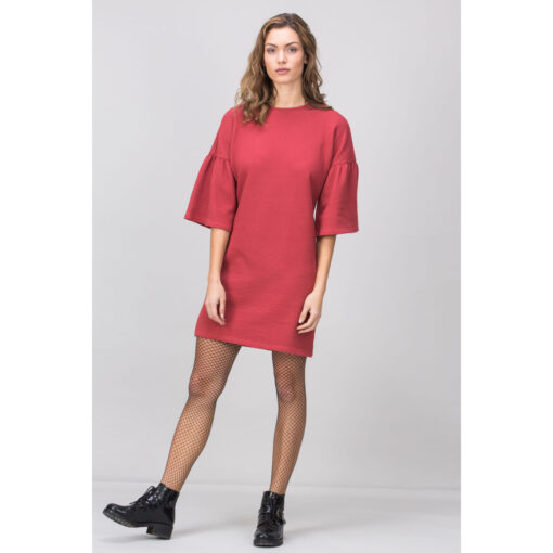 Lovjoi Kleid MADALA red heather (2)