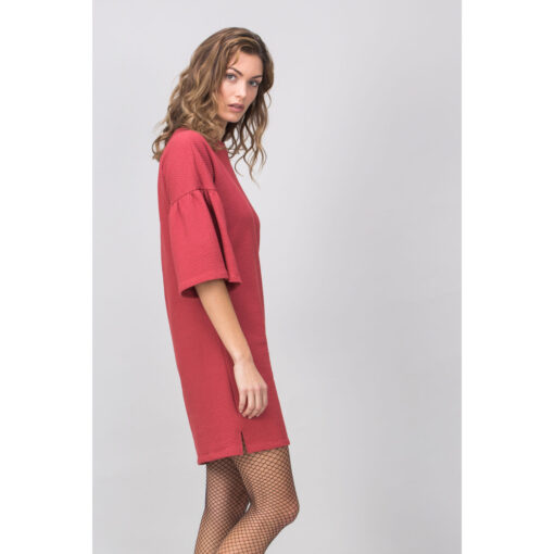 Lovjoi Kleid MADALA red heather (3)