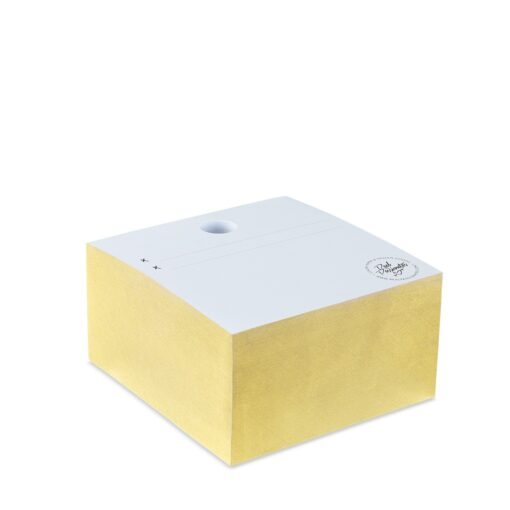 "Real Passionates Note Cube ""Gold"""