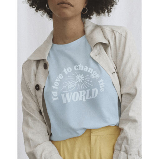 "WOMOM T-Shirt ""Change the World"""