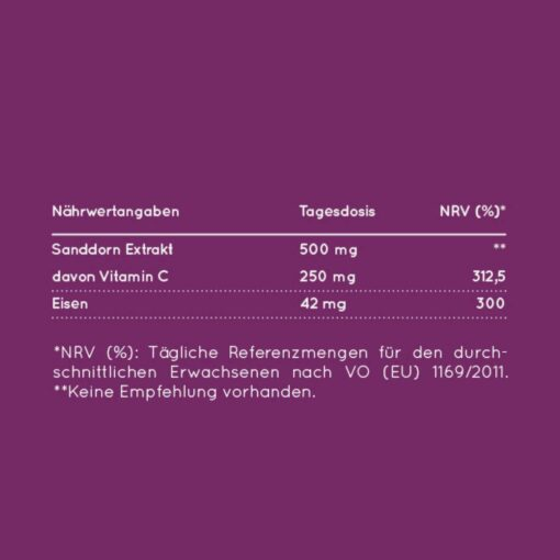 MYLILY Powerfrau Eisen + Vitamin C (3)