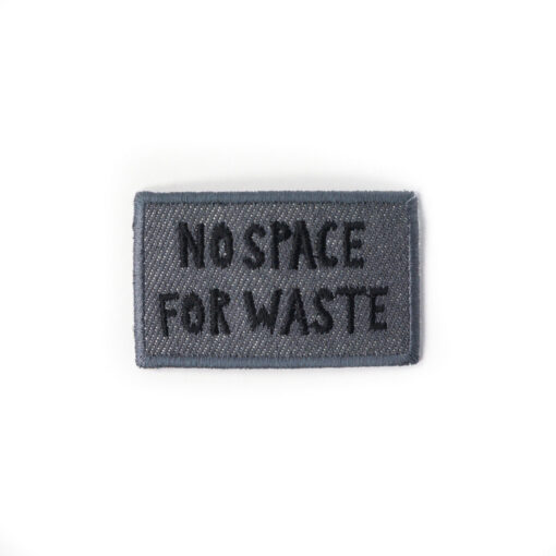 DAWN Denim Patch no space for waste