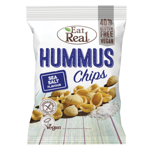 Eat Real Hummus Chips Sea Salt