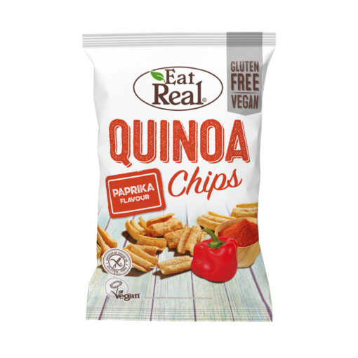 Eat Real Quinoa Chips Paprika