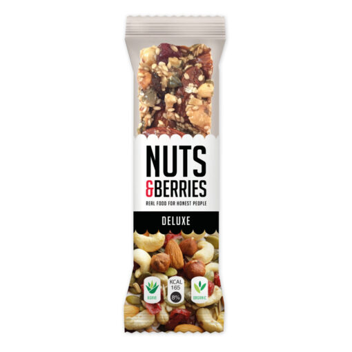 Nuts & Berries Bio-Riegel Deluxe