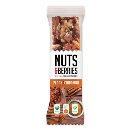 Nuts & Berries Bio-Riegel Pecan Cinnamon
