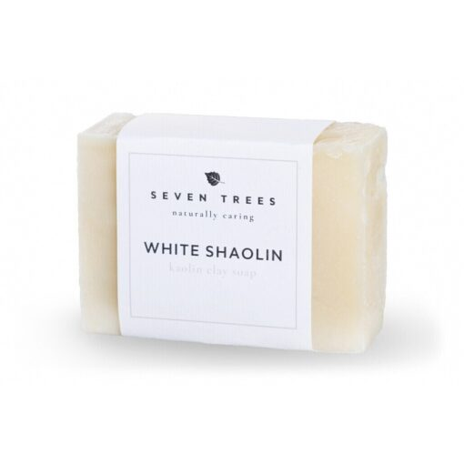 SEVEN TREES WHITE SHAOLIN Kaolin Clay Soap