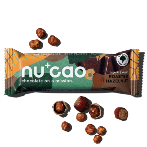 nucao Schoko-Riegel Roasted Hazelnut