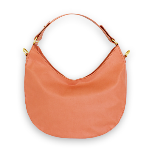 nuuwai Vegan Hobo Bag crushed apricot (2)