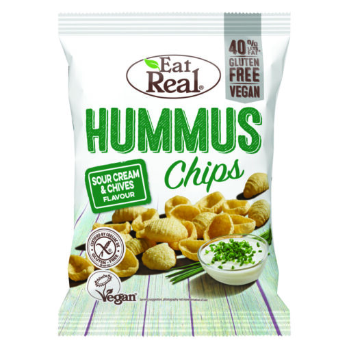 "Eat Real Hummus Chips ""Sour Cream & Chives"""
