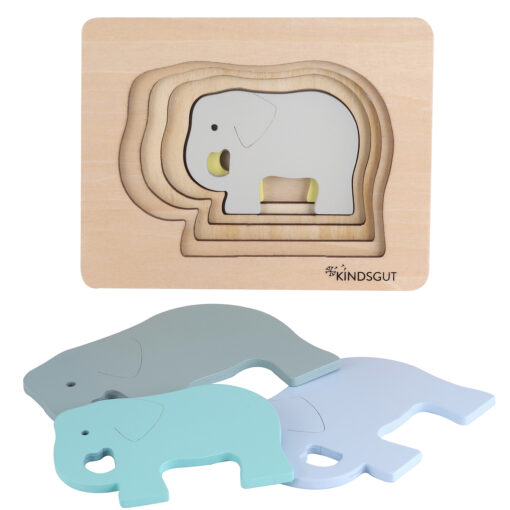 Kindsgut Tier-Puzzle Elefant (3)