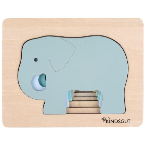 Kindsgut Tier-Puzzle Elefant