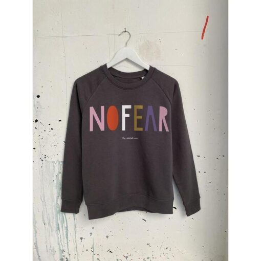 "The colorful crew Sweater ""No Fear"""