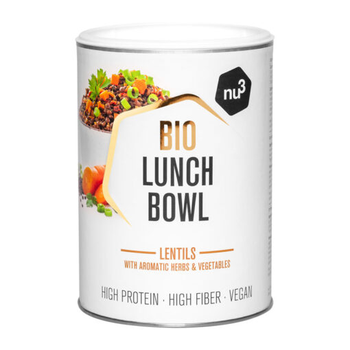 "Nu3 Bio Lunch Bowl ""Lentils"""