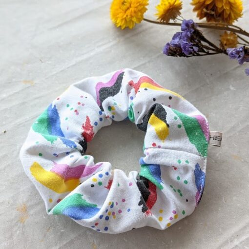 HEAVIN Scrunchie 80ies Print (2)