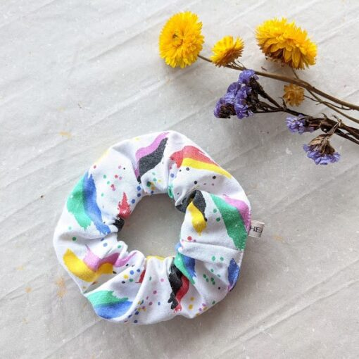 HEAVIN Scrunchie 80ies Print