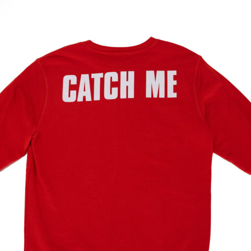 "Hey Soho Sweater ""Catch Me"" rot"