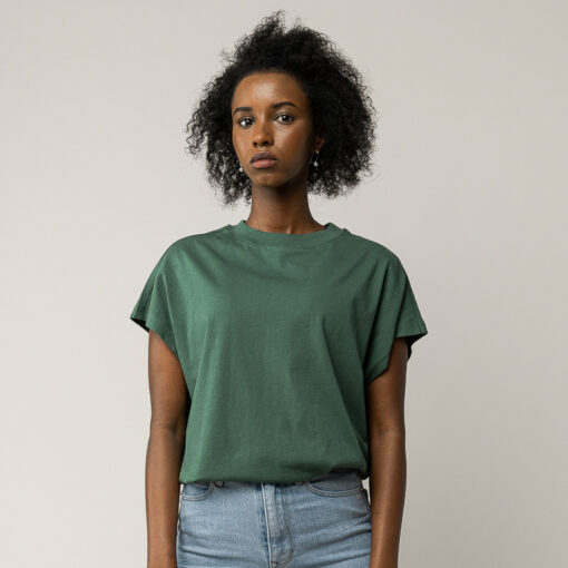 MELAWEAR T-Shirt Madhu Sienna Bottle Green