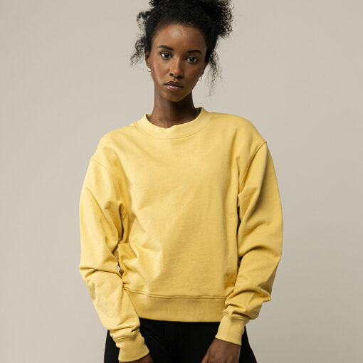 MELAWEAR Damen Sweatshirt RATI Faded Sunshine